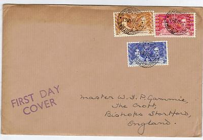 Northern Rhodesia 1937 Coronation First Day Cover