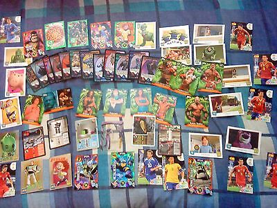 Job Lot Of 55 Trading Cards - Turtles - Wwf - Xmen - Football - Toy Story - Etc