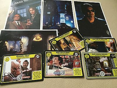 DOCTOR WHO MONSTER INVASION 80 148 161 301 318 plus 4 movie postcards