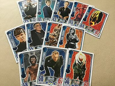Topps Doctor Who Alien Attax Trading Card 69 96 101 114 130 6 8 143 180 200 218