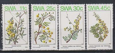 SWA SOUTH WEST AFRICA 1984 - Spring Flowers in S.W.A.SG 435/8 MNH FAUNA