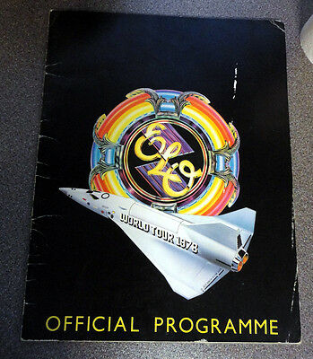 ELO Electric Light Orchestra World Tour 1978 Official Programme Concert Book
