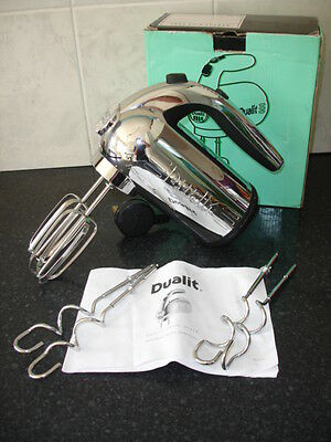 Dualit Professional Hand Mixer - Chrome - Boxed