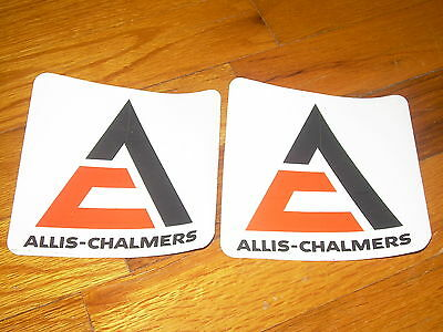 Vintage Allis Chalmers Decal Sticker Lot of 2 NEW OLD STOCK