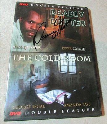 Deadly Drifter DVD signed by Danny Glover