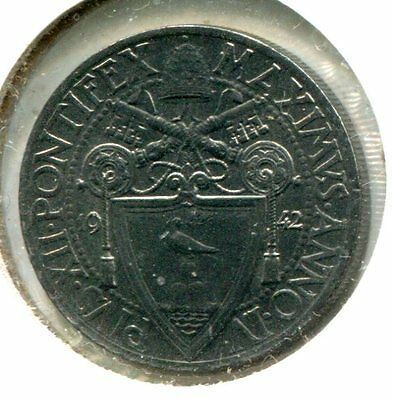Vatican City 1942 20 Centesimi, KM#33, Unc