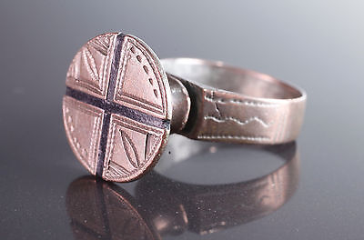 Old Tuareg Touareg Nickel Ring With Gift Box – African Jewellery