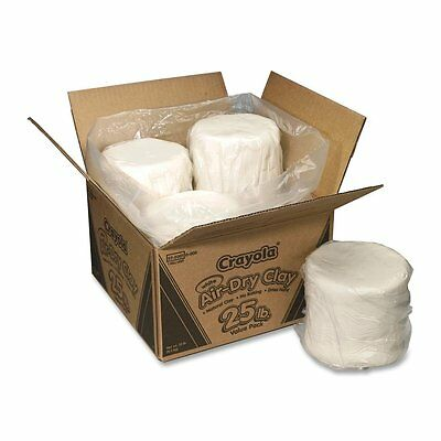 Crayola Air Dry Clay 25 lb Value Pack White