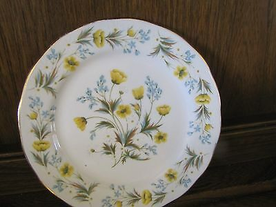 Vintage Colclough~Angela~1X16cms Tea/Side Plate