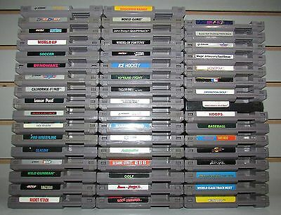 Lot of 50 Nintendo NES Games Wholesale Lot Fast Shipping!