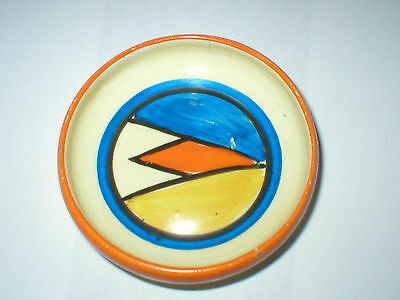 Clarice Cliff Bizarre Art Deco Pin Dish Newport Pottery