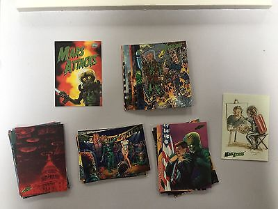 Mars Attacks Topps Cards #67-99, 0 Comic New Visions 94 Archives Lot Set