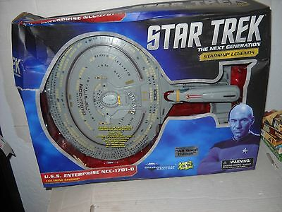Diamond DST STAR TREK Starship Legends NCC-1701 D All Good Things Enterprise MIB