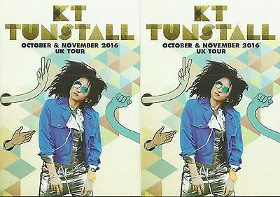 KT Tunstall  - 2016 Tour FLYERS x 2