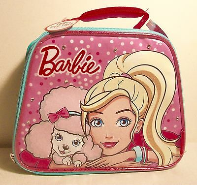 Barbie Insulated Lunchbox Lunchbag by Thermos New