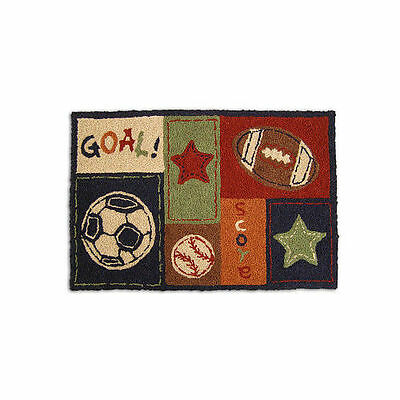 New NoJo MY LITTLE MVP Accent Rug 20 x 30 SPORTS