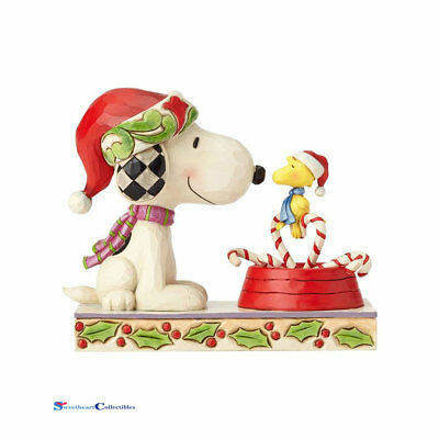 Jim Shore Peanuts 4057678 Snoopy & Woodstock 2017