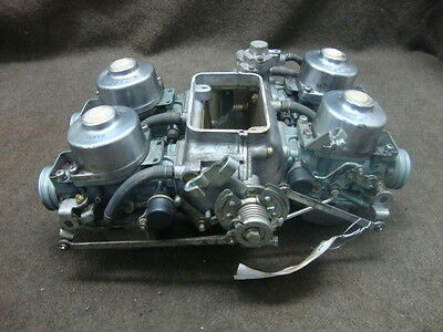 79 Honda Gl1000 Gl 1000 Goldwing Carb Set, Carburetors (From Running Bike) #yb24