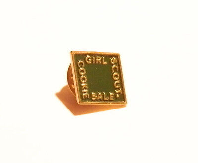 2002 Girl Scout Official Cookie Pin~Green~Metal~Pre-Owned