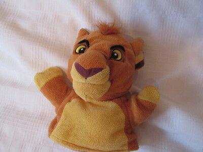 DISNEY LION KING SPECIAL EDITION SIMBA HAND PUPPET PLUSH DOLL 2 in 1 reversible