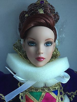 "Tonner Tyler 16"" 2007 Cinderella Masquerade Ball Signed Convention Doll NRFB BW"