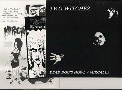 "TWO WITCHES - Dead dog's howl - 7"" + insert"