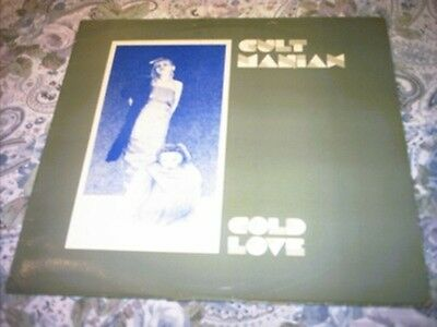 CULT MANIAX - Cold love - LP US deathrock