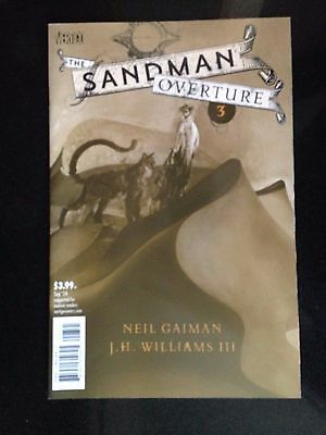 SANDMAN OVERTURE #3, SPECIAL INK VARIANT B, New, First print, DC Comics (2014)