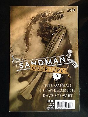 SANDMAN OVERTURE #6, SPECIAL INK VARIANT B, New, First print, DC Comics (2014)
