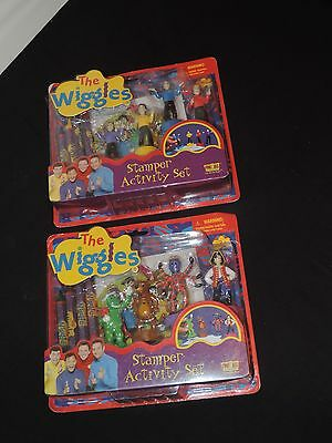 The Wiggles Stamper Activity Sets & Crayons W/wags Dorothy Henry Captain Feather