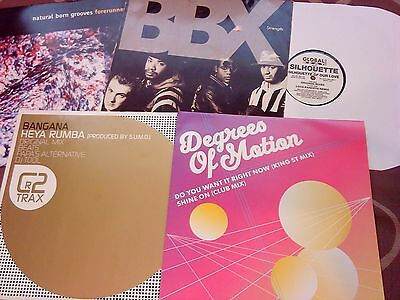 Job Lot Of 5 House Dance Trance Records - Vinyl - Good Collection - Bundle
