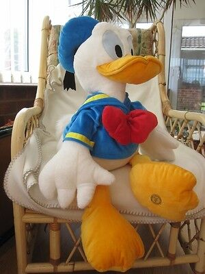"Very Large 30"" Disney Store Donald Duck Plush Soft Toy Giant Huge"