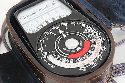 Weston Master III Exposure Meter 1959