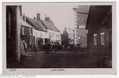 Northamptonshire, Lower Weedon, Village Scene, Shop Fronts, Rp