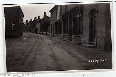 Northamptonshire, Corby, Street Scene, Motor Cycle And Side Car, Rp
