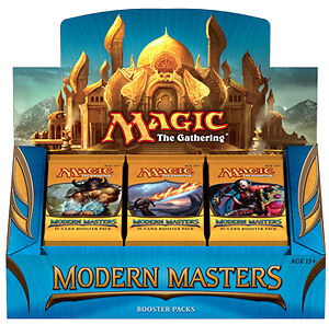 MTG Modern Masters 2013 Factory Sealed 24 Packs