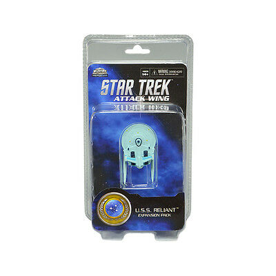 Star Trek Attack Wing. U.S.S. Reliant Expansion Pack. New and Sealed in Pack.