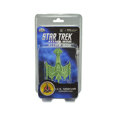Star Trek Attack Wing. I.K.S. Negh'Var Expansion Pack. New and Sealed in Pack.