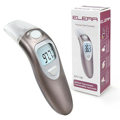 Digital Baby Adult Body Forehead Ear Temperature Object Thermometer Infrared IR