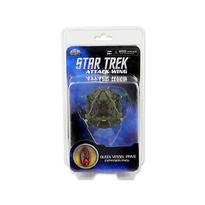 Star Trek Attack Wing. Queen Vessel Prime Borg Expansi. New and Sealed in Pack.