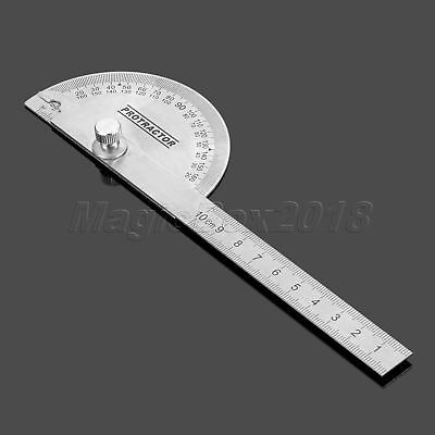 Adjustable  0 to 180 Degrees Protractor Angle Finding For Woodworking Machinist