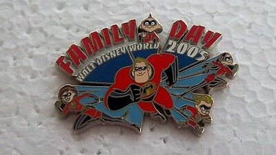 *~* Disney Wdw Family Day 2005 The Incredibles Le Pin *~*