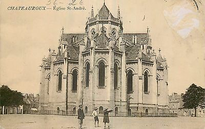 36 Chateauroux Eglise St-Andre Animee