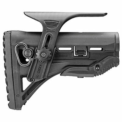FAB Defense stock w/ Shock Absorbing and Cheek Rest - GL-SHOCK CP