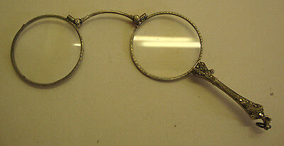 Early 20th century pair of diamonte decorated pair of Lorgnettes