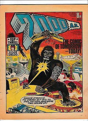 2000Ad Prog #5  26 March 1977  Judge Dredd In Good Condition