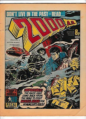2000Ad Prog #6  02 April 1977  Judge Dredd In Good Condition