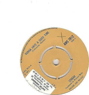 Streak – Gonna Have a Good Time - Glam Rock 45 - The Arrows
