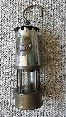 Protector Lamp & Lighting Company Type 6 Underground Miners Safety Lamp-ECCLES