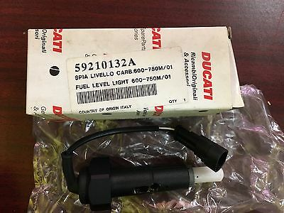New OEM Ducati Fuel Level Light Sensor Sending Unit Carb Monster 600 750 900